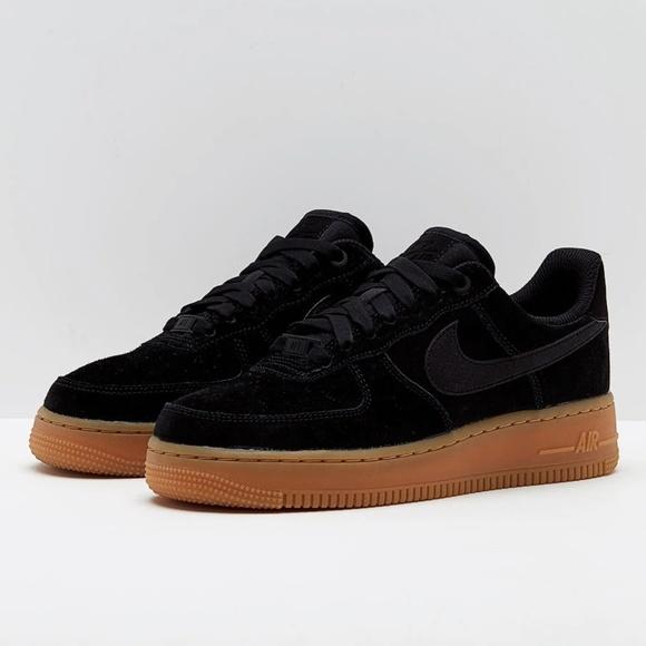 sports shoes 8c80c c2406 Nike Shoes | Air Force 1 07 Se Black Gum Size 85 | Poshmark